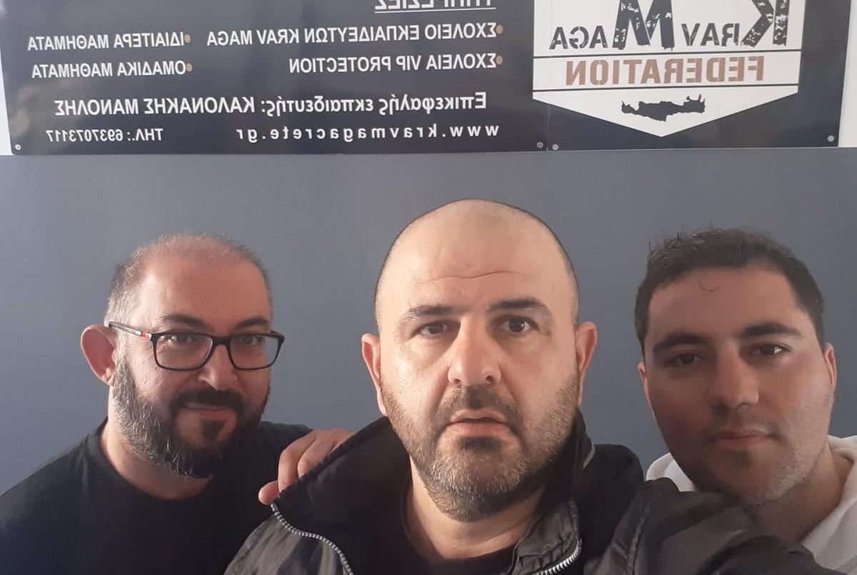 Τρίτο σχολείο εκπαιδευτών Krav Maga