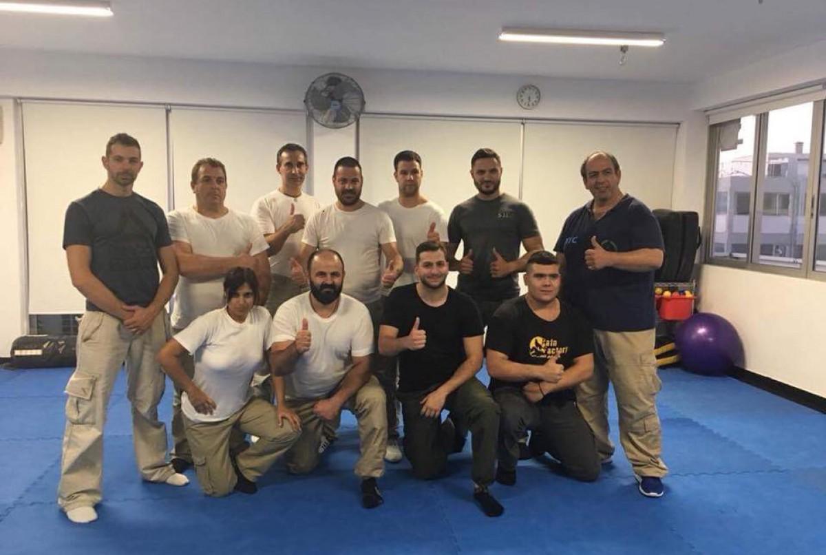 Σχολείο εκπαιδευτής ασφάλειας - αυτοάμυνας - αυτοπροστασίας - KAPAP Krav Maga